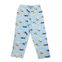 Never Sleep Alone Pajama Pant - Light Blue
