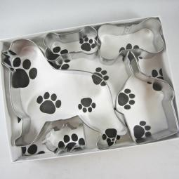 Newfoundland Happy Barkday Cookie Cutter Set + a Letter!