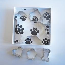 Newfoundland Six Piece Cookie Cutter Set + a Letter!