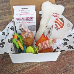 Welcome to the Family New Puppy Dog-Gone Goodie Gift Box