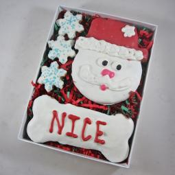 Nice Santa Christmas Dog Treat Assortment