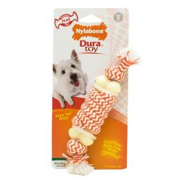 Nylabone DuraToy Play Rope Bone