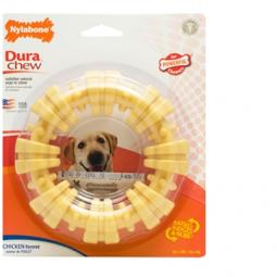 Nylabone DuraChew Textured Ring Chicken