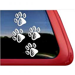 Paw Prints Large Decal
