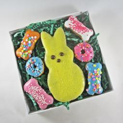 Peep and Bone Easter Dog Treat Assortment