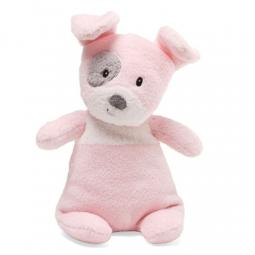 "Pink Spotto with Rattle 9"" Gund Stuffed Animal"