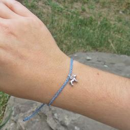 Pit Bull Braided Thread Bracelet