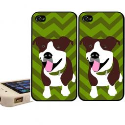Pit Bull Chevron 4/4s/5 iPhone Case