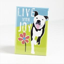 Pit Bull Joy Pocket Mirror