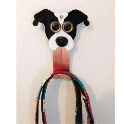 Pit Bull Metal Rivet Leash Holder