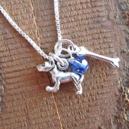 Mini Dog Bone Necklaces