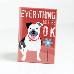 Pit Bull OK Pocket Mirror