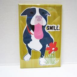 Pit Bull Smile Pocket Mirror
