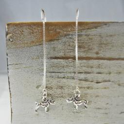 Pit Bull Threader Earrings