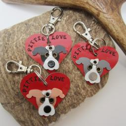Pittie Love Limited Edition Keychain