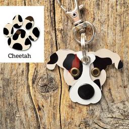Pittie Pattern Cheetah Limited Edition Keychain