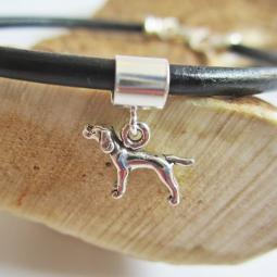 Pointer Mini Sterling Silver European-Style Charm and Bracelet
