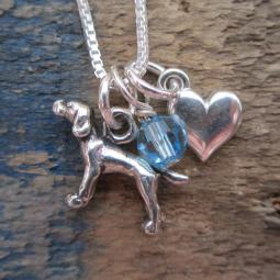 Pointer Mini Heart Sterling Silver Necklace
