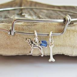 Pointer Mini Bone Stackable Bangle Bracelet