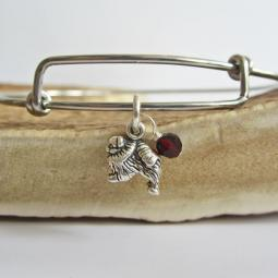 Mini Dog Dangle Bangles