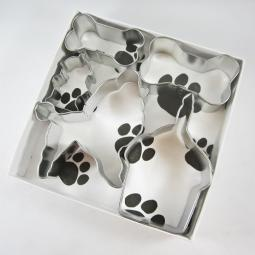 Poodle Happy Barkday Cookie Cutter Set + a Letter!