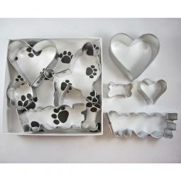 Poodle Woof Five Piece Cookie Cutter Set + a Letter!