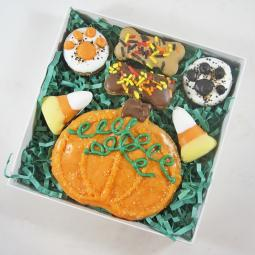 Pumpkin Patch Halloween Dog Treat Assortment