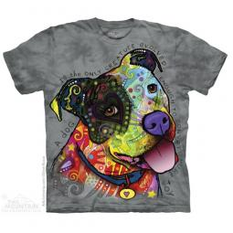 Pure Joy Pit Bull Dean Russo Unisex T-Shirt - Discontinued