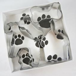Schnauzer Happy Barkday Cookie Cutter Set + a Letter!