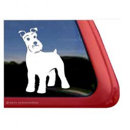 Schnauzer Large Decal