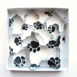 Scottish Terrier Six Piece Cookie Cutter Set