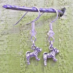 Shar-Pei Sterling Silver Earrings