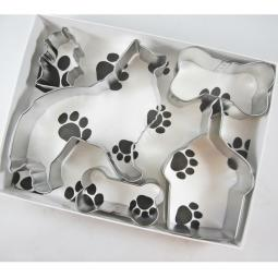 Sheltie Happy Barkday Cookie Cutter Set + a Letter!