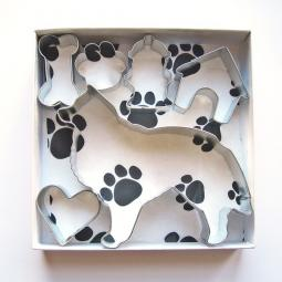Sheltie Six Piece Cookie Cutter Set