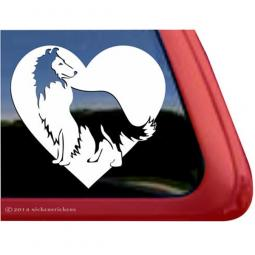 Sheltie Love Large Decal