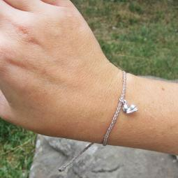 Shih Tzu Braided Thread Bracelet