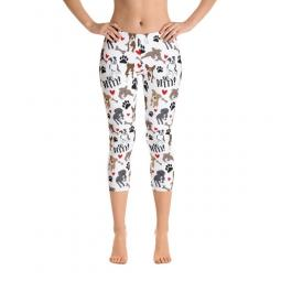 So Pitty Pit Bull Capri Ladies' Leggings