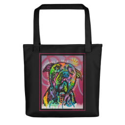 A Spot of Sunshine Indelible Dog Tote Bag