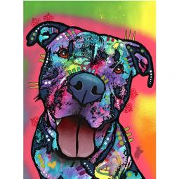 Straight to The Heart Indelible Dog Dean Russo Print