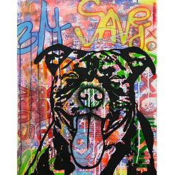 Survivor Indelible Dog Dean Russo Print