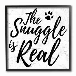 The Snuggle is Real Wall Art Plaque