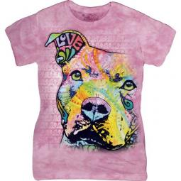 This Year's Love Pit Bull Dean Russo Ladies' T-Shirt - Discontin