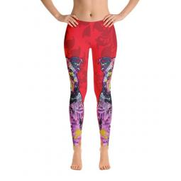 Thoughtful Pit Bull Love Dean Russo Ladies' Leggings