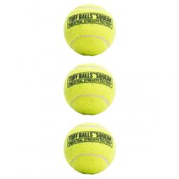 PetSport Tuff Squeaker Tennis Ball 3-Pack