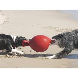 Jolly Pets Tug-N-Toss Ball for Dogs - Red Size 8""