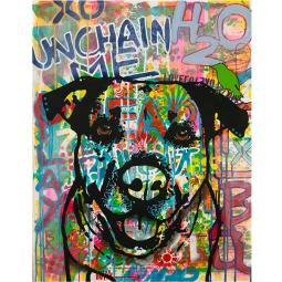 Unchained Indelible Dog Dean Russo Print