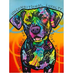 Unconditional Love Indelible Dog Dean Russo Print