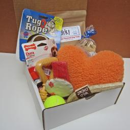 Valentine Dog-Gone Goodie Gift Box