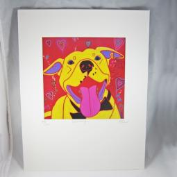 Womanizer Pit Bull Angela Bond Print