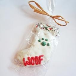 Large Woof Stocking Dog Treat